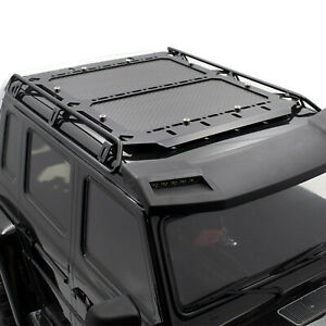 Para-TRAXXAS-TRX6-Benz-G63-RC-Car-Body-Metal-Luggage-Roof-Rack-Carbon-Plate-Set
