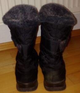 Schwarz winterstiefel - Stiefel mit Pelz, Gr. 39 - - Konz, Deutschland - Schwarz winterstiefel - Stiefel mit Pelz, Gr. 39 - - Konz, Deutschland