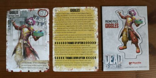 Dead of Winter Promo Character Mini Expansion Long Night New Unused