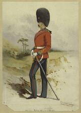 British Army 23rd Royal Welsh Fusiliers 19thc Empire Bearskin 6x4 Inch Print