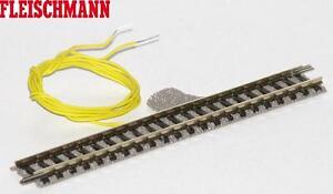 Fleischmann-N-9101-2-droit-voie-111-mm-comme-Port-voie-Neuf