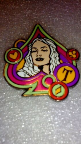 Mad T Party White Queen Only Mystery Pin Collection Disney pins DLR