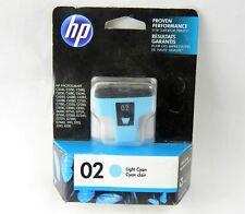 Genuine HP 02 Black Original Ink Cartridge EXP JAN-DEC 2018 C8721WN