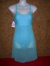Robe-Tunique de danse femme, justaucorps DANSCO C57 - Bleu lagon en  40/42
