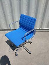 Herman Miller Eames Aluminum Group Management Blue Desk Chair 2012 Free Shipping