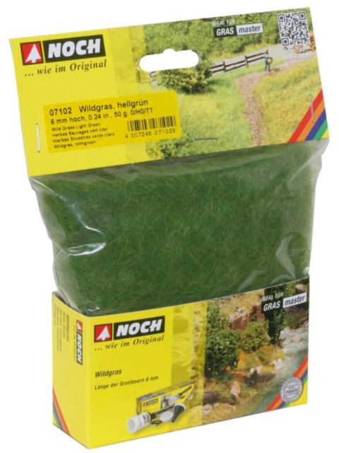 Noch 07102 Wild Grass (Light Green) 50g New