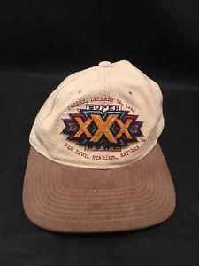 7a233493d39 Vintage Super Bowl XXX 1996 American Needle Cowboys Steelers Beige ...