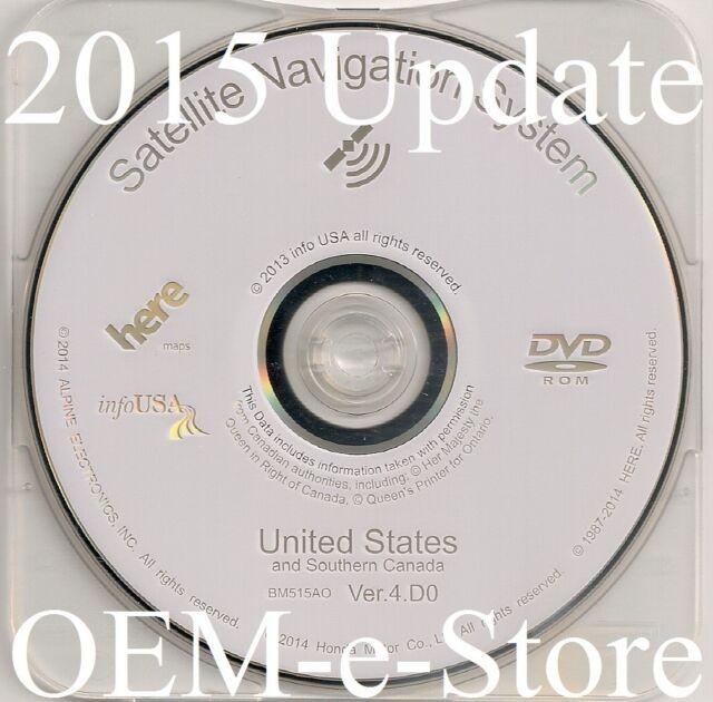 2007 2008 Acura TL TSX RL RDX MDX GPS Navigation White DVD
