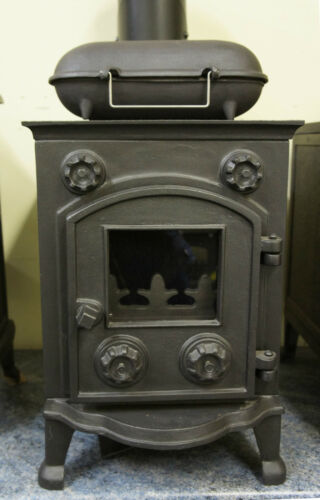 LARGE Cast Iron BAKED POTATO COOKER for Wood Burners Multi Fuel Stoves Log Fires