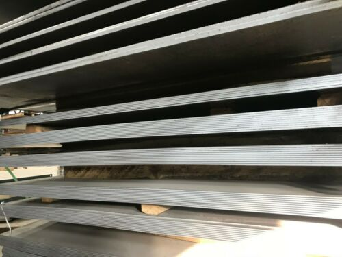 "1/"" Hot Rolled Steel Sheet Plate 5/""X 8/"" Flat Bar A36"
