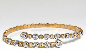 1-02ct-natural-diamonds-Flexible-bangle-bracelet-18kt-F-G-Vs-Petite-Adjust
