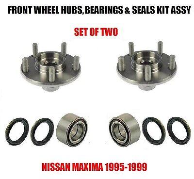FRONT WHEEL HUB BEARING KITS 1995-1999 FOR NISSAN MAXIMA SINGLE FAST SHIPPING