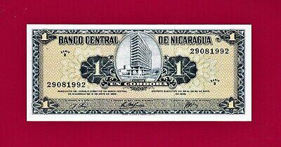 B-Serie UNC /> Colorful Nicaragua 1 cordoba Pick 179 1995