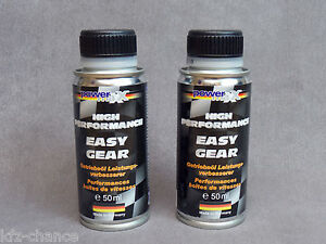 Wear Protection Performance Enhancer Gearbox Oil Additive Easy Gear 2x 50 ML