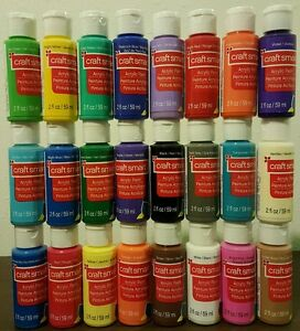 Image Is Loading Seal 24 Craft Smart Acrylic Paint Bottles 2