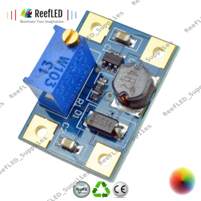 DC-DC 2-24V to 2-28V Step Up Adjustable Power Module Boost Converter 2A SX1308
