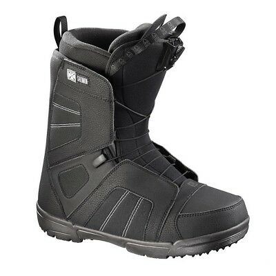 2018 Salomon Titan Black Mens Snowboard Boots