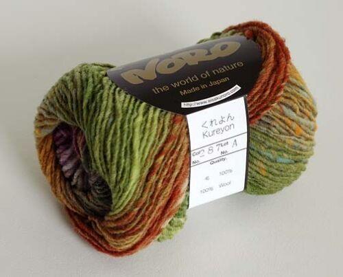 NORO Kureyon  Wool  Yarn #287-10 skeins