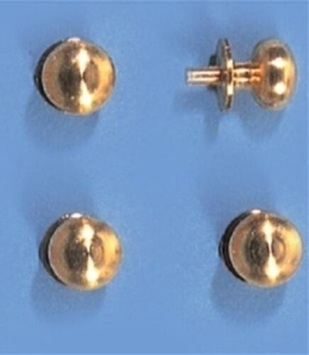 Casa de muñecas en miniatura 1 escala 12th 5 mm Oro Pomos De Color