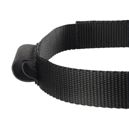 Nite Ize Headband Black Flashlight Holder Comfortable Non-Elastic Webbing 2-Pack