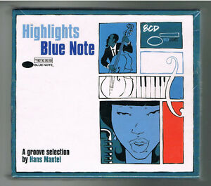 HIGHLIGHTS-BLUE-NOTE-A-GROOVE-SELECTION-BY-HANS-MANTEL-COFFRET-8-CD-NEW