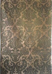 Beautiful-1930-039-s-French-Woven-Damask-Fabric-2531