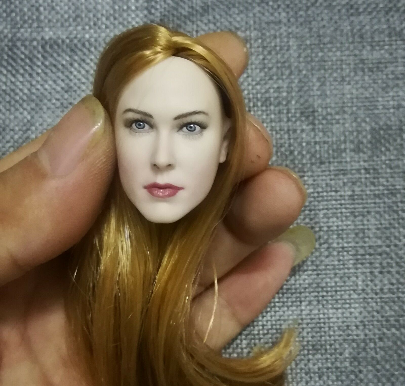 1 6 female Blond pale Head Sculpt Europe  America For  PHicen Tbleagure figure