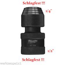 """Bithalter Bitadapter 1/2"""" Vierkant ➔ 1/4"""" Reduzierung Vergröserung Zoll 48034410"""