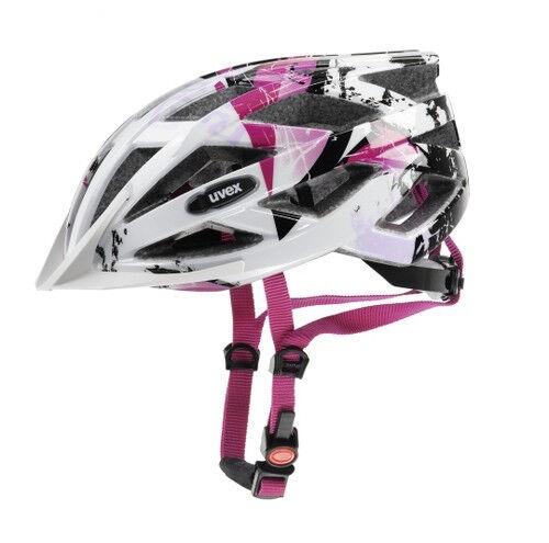UVEX Fahrrad Helm air wing white-pink Gr 52-57 für Stevens KTM Winora GIANT u.a.