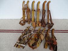 N7830 ~ Konvolut 6 Paar alte Schlittschuhe ~ Ice Skates ~ RAR um 1940 ~ ANTIK