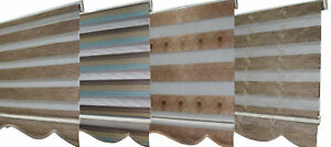 Lichtblick-Duo-Rollo-Doppelrollo-Seitenzugrollo-Gardienen-versch-Braune-Modelle