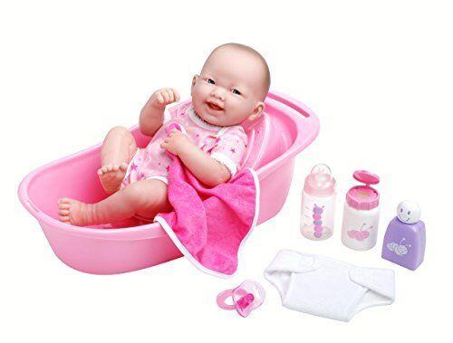 La nuovoborn 8 Pezzi Set Regalo Deluxe  vasca da borsano, con 14 Life-Like tutti VINILE SMI  negozio online