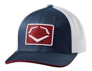 Evo Shield Rank Flex Fit Hat Cap Relaxed Mesh Back Baseball Patriotic WTV8726NR