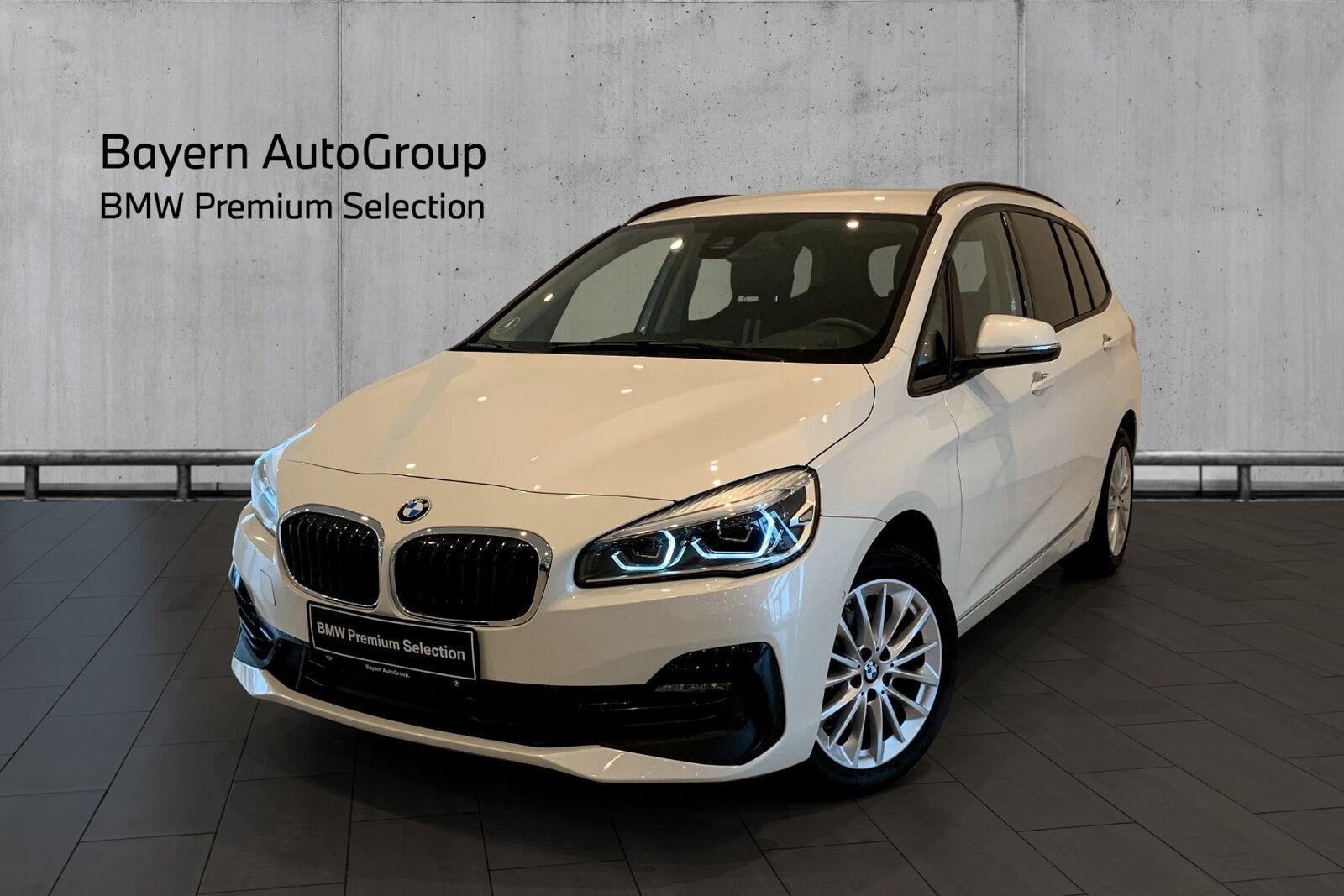 BMW 218i 1,5 Gran Tourer Sport Line aut. 7p 5d