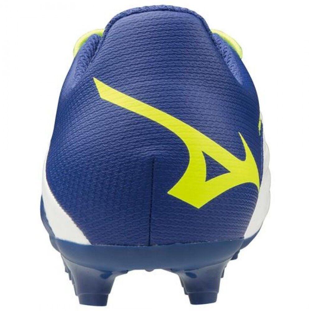 Mizuno Weiß Soccer Schuhes Spike REBULA 2 V3 Junior P1GB1975 Weiß Mizuno × Blau × Gelb b7a1a3