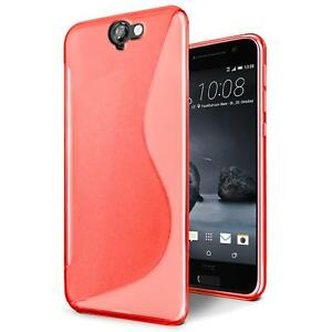 low priced 048c7 d2fdf Details about Case HTC One A9 Case Silicone Cover Pouch Bumper