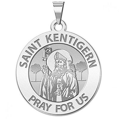 Available in Solid 14K Yellow or White Gold or Sterling Silver PicturesOnGold.com Saint Veronica Religious Medal