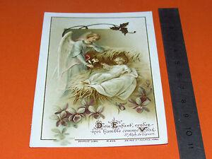 CHROMO 1910-1925 CATHOLICISME IMAGE PIEUSE HOLY CARD JESUS ENFANT ANGE mYI4n9sB-09084240-175751833