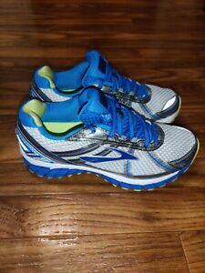 Brooks Adrenaline GTS 15 Women's Running Shoes Gray Blue 1201741B179 Size 8 Wide