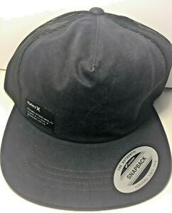 new product 9b59d 64144 Image is loading HURLEY-Men-039-s-Hat-Yacht-Club-Tonal-