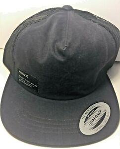 Hurley Yacht Club Cap Black Mens Caps