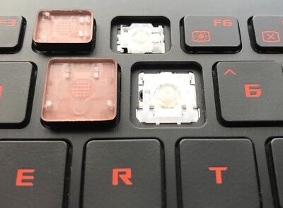 Orange GENUINE Asus ROG STRIX GL502 Single UK Gaming Keyboard Key Black