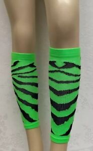 S//M Calf Compression Leg Sleeves Graduated Performance Recovery NWT Red Lion USA