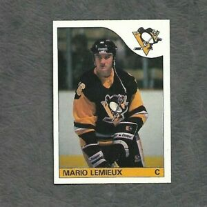 1985-86-OPC-NHL-Hockey-Rookie-Card-RC-Pittsburgh-Penguins-Mario-Lemieux-9