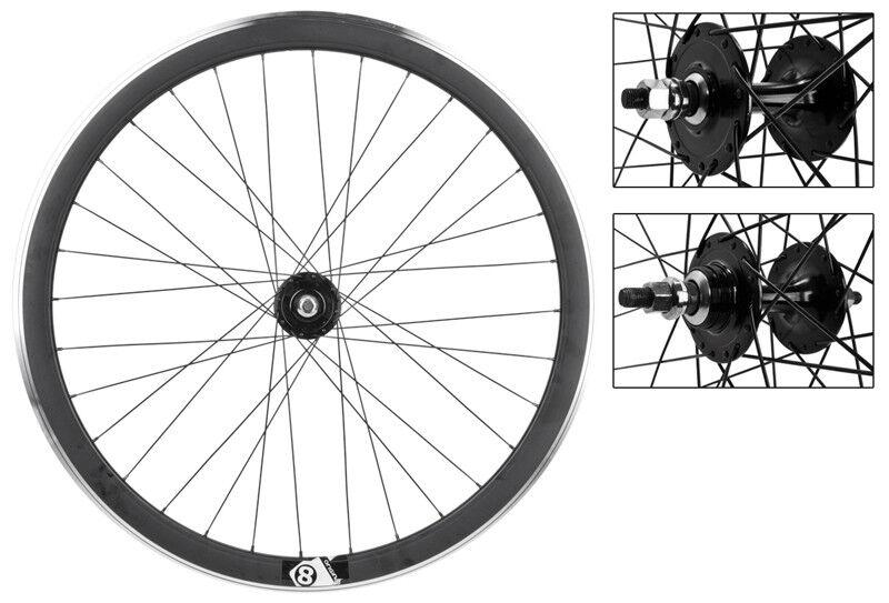WM Wheels 700 622x15 Or8 42mm Mat-bk Msw 32 Or8 Fx fw Loose bk 120mm Dti2.0bk