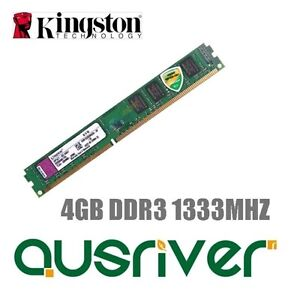 Kingston-ValueRAM-4GB-DDR3-1333MHz-Desktop-Computer-Memory-RAM-1-5V