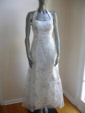 ZUM ZUM by NIKI LIVAS WOMEN DRESS size 3 /4 WHITE PAGEANT FORMAL GOWN PROM