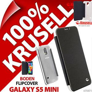 Krusell-Boden-etui-a-clapet-pour-Samsung-Galaxy-S5-Mini-Housse-Rabattable-Folio