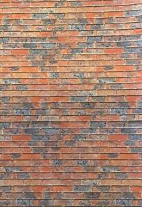 Courageux 1/10 1/12 Diorama Old Burnt Briques (5 X A4 Feuilles) 0130-afficher Le Titre D'origine Dans La Douleur