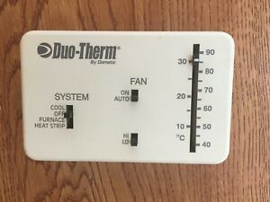 Details about Dometic Duotherm Thermostat Heat/Cool Analog RV Camper  3107612 024 Heat Strip